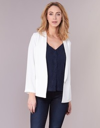 Clothing Women Jackets / Blazers Betty London IKAROLE White