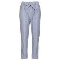 Clothing Women 5-pocket trousers Betty London IKARALE Blue / White