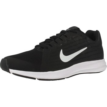 Shoes Men Low top trainers Nike DOWNSHIFTER 8 (GS) Black