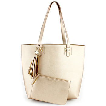 Bags Women Handbags London Rag Women's Synthetic Leather Tote Bag ROSE GOLD