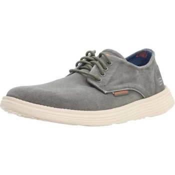 Shoes Men Low top trainers Skechers STATUS BORGES Green