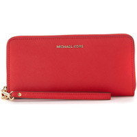 Bags Women Wallets MICHAEL Michael Kors Continental red saffiano leather wallet Red