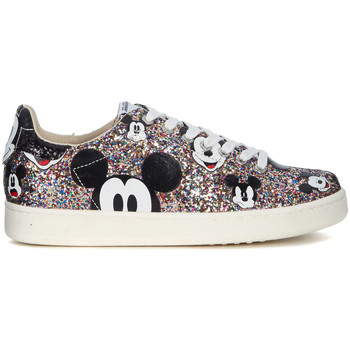 Shoes Women Low top trainers Moa - Master Of Arts MoA Mickey Mouse multicolor glitter sneakers Multicolour