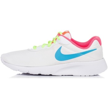 Shoes Children Low top trainers Nike Tanjun GS White