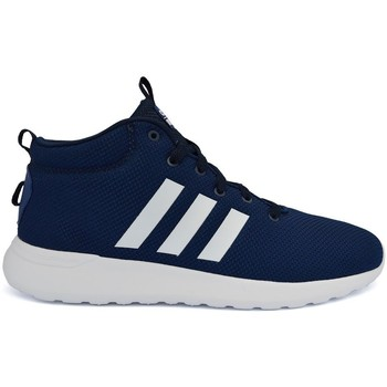 Shoes Men Hi top trainers adidas Originals CF Lite Racer Mid Navy blue
