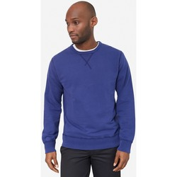 Clothing Men jumpers Albam Classic Sweatshirt Navy Blue