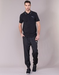 Clothing Men Tracksuit bottoms Puma ACTIVE WOVEN PANT Black