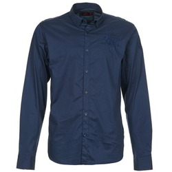Clothing Men long-sleeved shirts Les voiles de St Tropez ACOUPA Marine