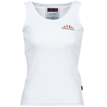 Clothing Women Tops / Sleeveless T-shirts Les voiles de St Tropez BLENNIE White