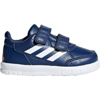 Shoes Children Low top trainers adidas Originals Alta Sport CF I White-Navy blue