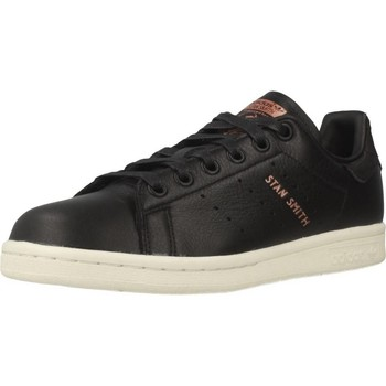 Shoes Women Low top trainers adidas Originals STAN SMITH W Black