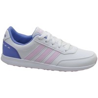 Shoes Children Low top trainers adidas Originals VS Switch 2 K White