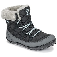 Shoes Children Snow boots Columbia YOUTH MINX™ SHORTY OMNI-HEAT™ WATERPROOF Black