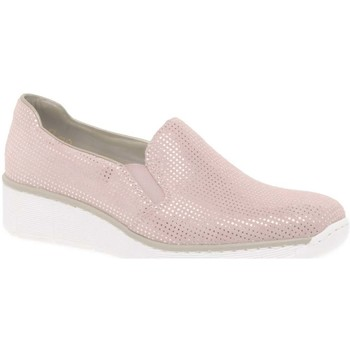 Shoes Women Shoes Rieker Melgar Womens Casual Shoes pink