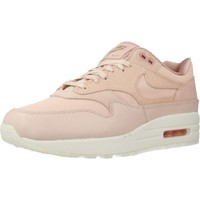 Shoes Women Low top trainers Nike AIR MAX 1 PRM Pink
