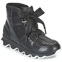 Shoes Women Snow boots Sorel KINETIC SHORT LACE Black