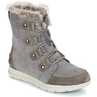 Shoes Women Mid boots Sorel SOREL EXPLORER JOAN Grey