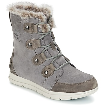 Shoes Women Snow boots Sorel SOREL™ EXPLORER JOAN Grey