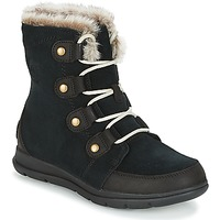 Shoes Women Mid boots Sorel SOREL EXPLORER JOAN Black
