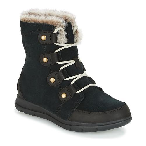 Shoes Women Mid boots Sorel SOREL EXPLORER JOAN Black