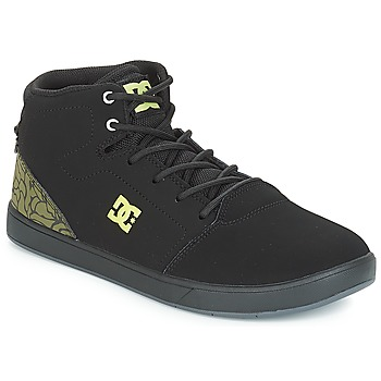 Shoes Children Hi top trainers DC Shoes CRISIS HIGH SE B SHOE BK9 Black / Green