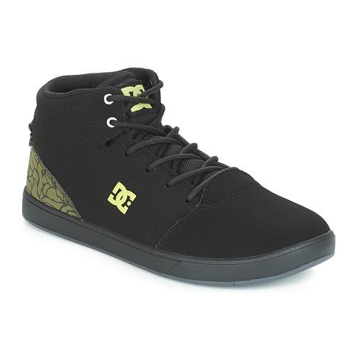 Shoes Children Hi top trainers DC Shoes CRISIS HIGH SE B SHOE BK9 Black / Green