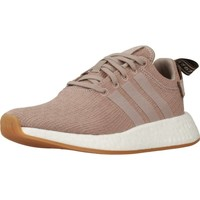Shoes Women Low top trainers adidas Originals NMD_R2 Brown