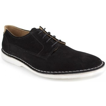 Shoes Men Derby Shoes J.bradford Derby  Black Leather JB-CETRO Black