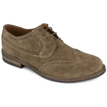 Shoes Men Derby Shoes J.bradford Derby  Camel Leather JB-CRISTIAN Brown