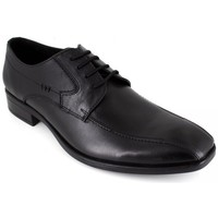 Shoes Men Derby Shoes J.bradford Derby  Black Leather FORDHATO Black