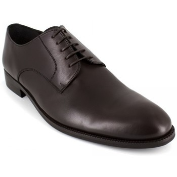 Shoes Men Derby Shoes J.bradford Derby  Black Leather JB-LUCERO Black