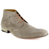 Shoes Men Derby Shoes Peter Blade Low Boots  Taupe Leather FLORIDA Grey