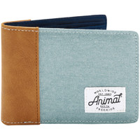 Bags Men Wallets Animal Provoked 2 Leaf Wallet - Smoke Blue Blue