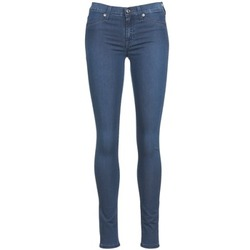 Clothing Women Slim jeans 7 for all Mankind SKINNY DENIM DELIGHT Blue / Medium