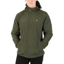 Clothing Men Jackets Lyle & Scott Men's Zip Though Hooded Jacket, Green green