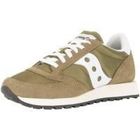 Shoes Men Low top trainers Saucony Men's Jazz Original Vintage Trainers, Green green