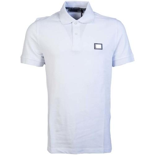 Clothing Men Short-sleeved polo shirts Love Moschino M830486E1786_a00white white