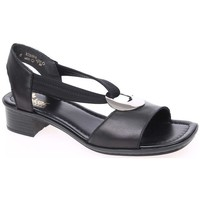 Shoes Sandals Rieker 6266201 Black