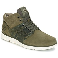 Shoes Men Hi top trainers Timberland Bradstreet Half Cab Kaki