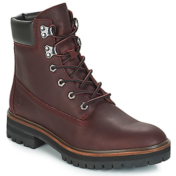 Shoes Women Mid boots Timberland London Square 6in Boot Bordeaux