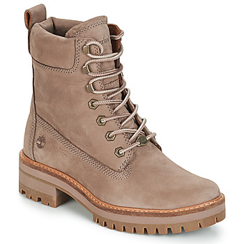 Shoes Women Mid boots Timberland Courmayeur Valley YBoot Taupe