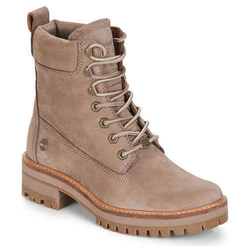 9b1e7ebe219 Timberland Courmayeur Valley YBoot Taupe - Free delivery | Spartoo ...