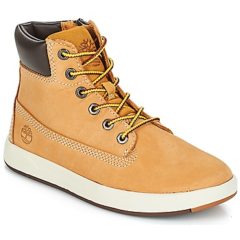Shoes Children Mid boots Timberland Davis Square 6 Inch Boot Wheat