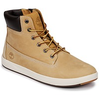 Shoes Children Mid boots Timberland Davis Square 6 Inch Boot Wheat / Naturebuck