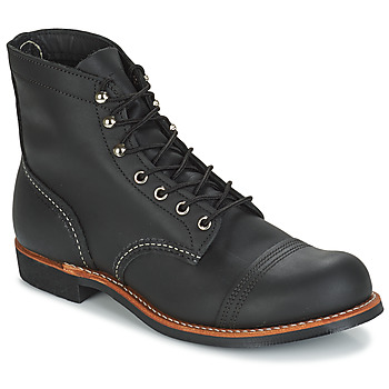 Shoes Men Mid boots Red Wing IRON RANGER Black