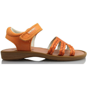 Shoes Girl Sandals Pablosky OLIMPO GIRL SANDAL ORANGE