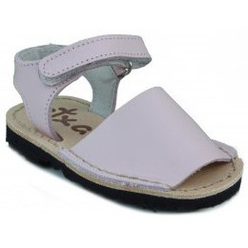 Shoes Children Sandals Arantxa Menorquinas handmade children PINK