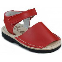 Shoes Children Sandals Arantxa Menorquinas handmade children RED