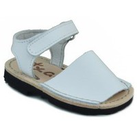 Shoes Children Sandals Arantxa Menorquinas handmade children WHITE