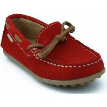 Shoes Boy Low top trainers Pablosky SERRAJE LAGO RED